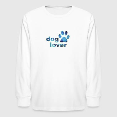 dog lover - Kids' Long Sleeve T-Shirt