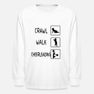 Boy Cheerleader Baby Body Gift Cheerleading - Kids' Long Sleeve T-Shirt