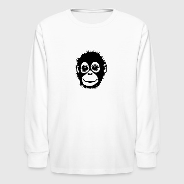 Ape Face Ape - Kids' Long Sleeve T-Shirt
