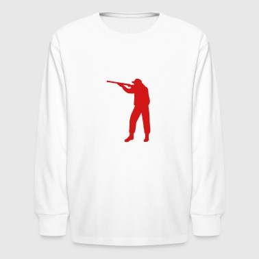 shooter - Kids' Long Sleeve T-Shirt