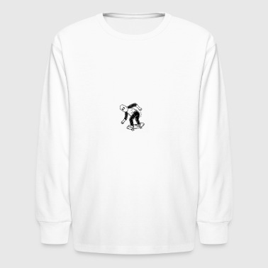 skateboarder - Kids' Long Sleeve T-Shirt
