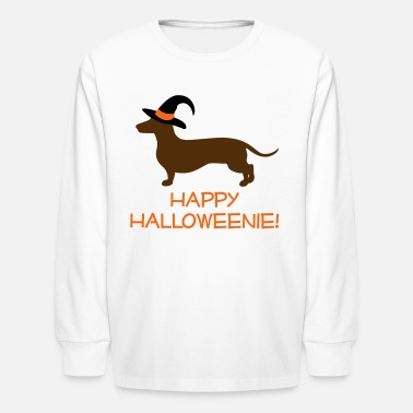Weenie Happy Halloweenie - Kids' Long Sleeve T-Shirt