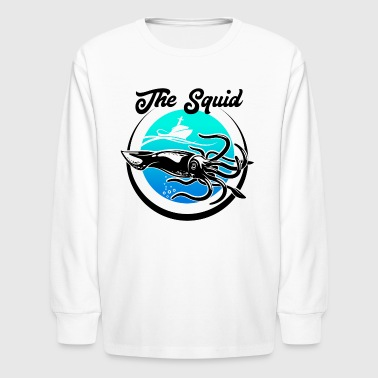 Squid - Kids' Long Sleeve T-Shirt