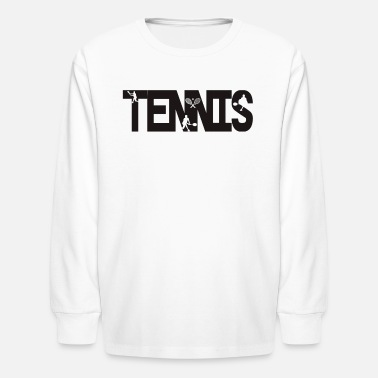 Tennis Racket Tennis player tennis ball tennis racket sport gift - Kids' Longsleeve Shirt