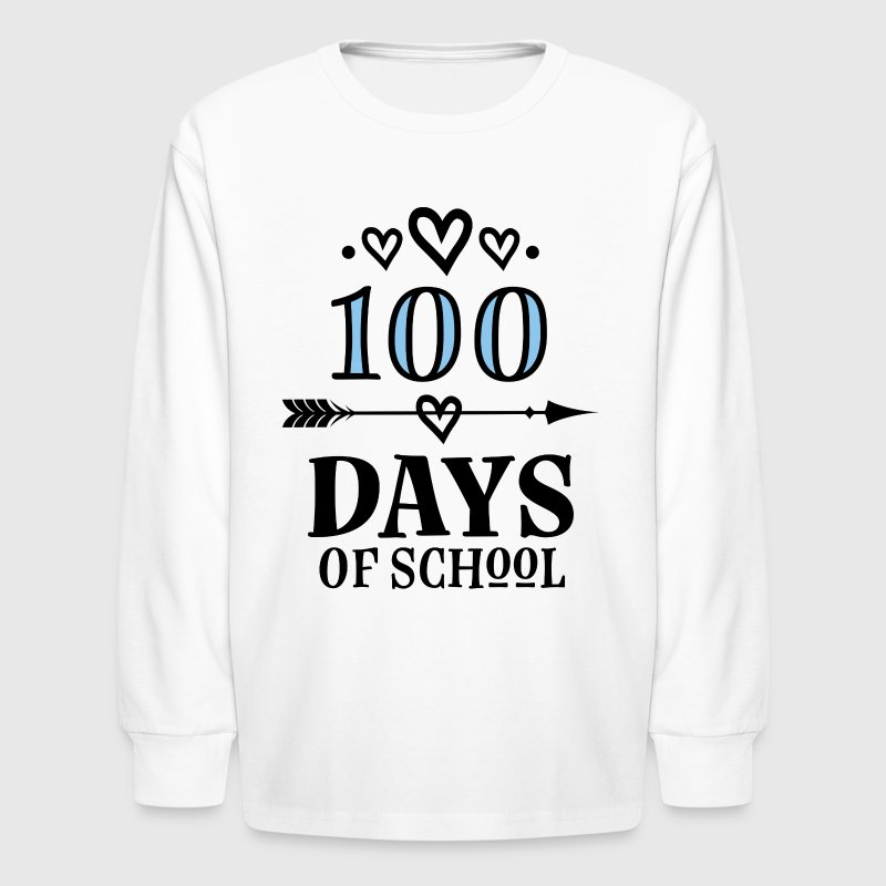 100 Days Of School Celebration Party - Kids' Long Sleeve T-Shirt