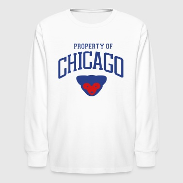 773 Chicago PROPERTY OF CHICAGO - Kids' Long Sleeve T-Shirt