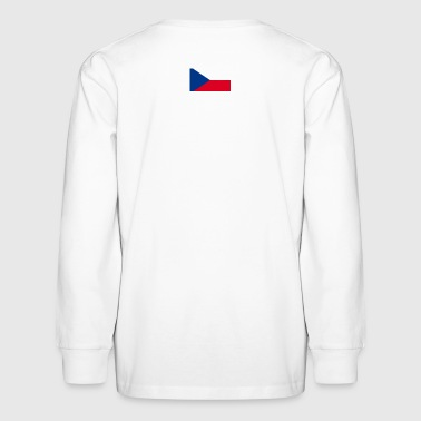 Czech Republic Flag - Kids' Long Sleeve T-Shirt