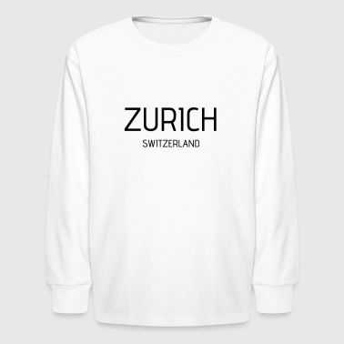 Zurich - Kids' Long Sleeve T-Shirt