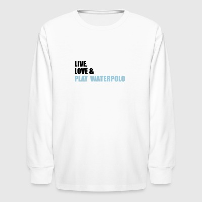 waterpolo - Kids' Long Sleeve T-Shirt