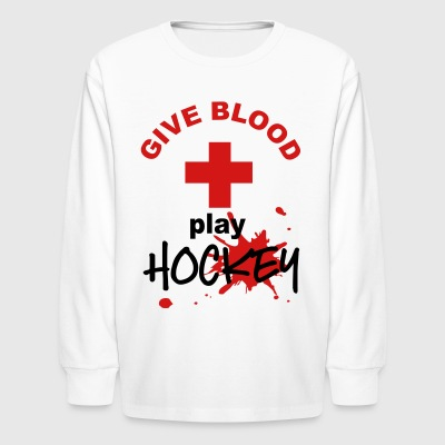 hockey - Kids' Long Sleeve T-Shirt