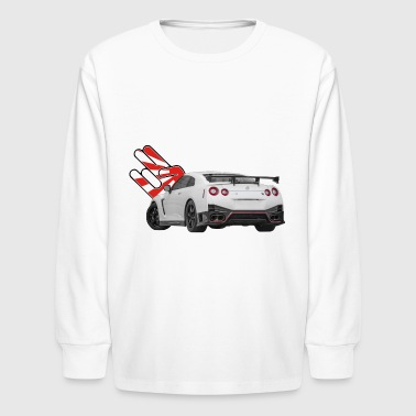 Nissan GTR R35 2017 - Kids' Long Sleeve T-Shirt