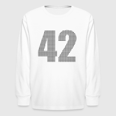 42 - Kids' Long Sleeve T-Shirt