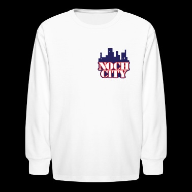 Official Noch City brand - Kids' Long Sleeve T-Shirt