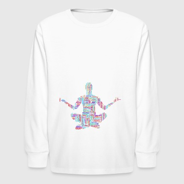 Yoga - Kids' Long Sleeve T-Shirt