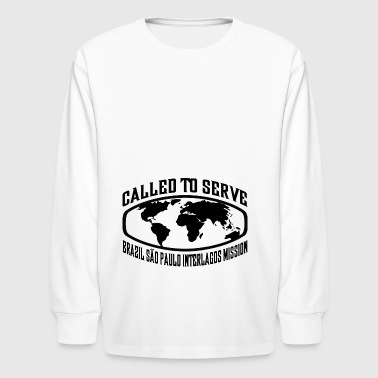 Brazil Sao Paulo Interlagos Mission - LDS Mission - Kids' Long Sleeve T-Shirt