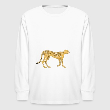 i just really like cheetahs ok - Kids' Long Sleeve T-Shirt