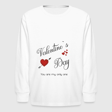 Valentines Day - Kids' Long Sleeve T-Shirt