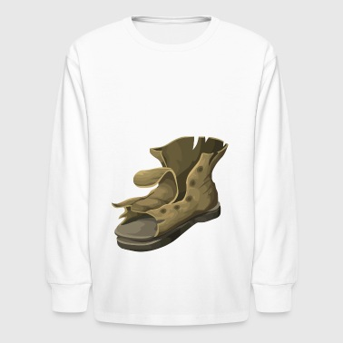 boots - Kids' Long Sleeve T-Shirt