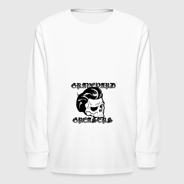 Graveyard Greasers Classic Logo - Kids' Long Sleeve T-Shirt