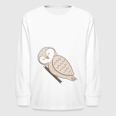owl - Kids' Long Sleeve T-Shirt