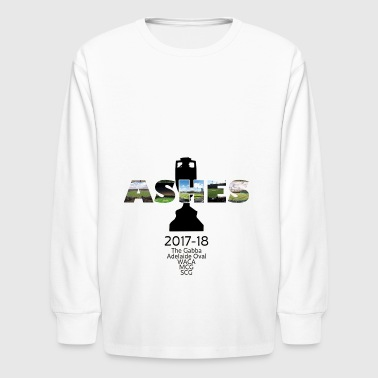 Ashes Venues 2017 18 - Kids' Long Sleeve T-Shirt