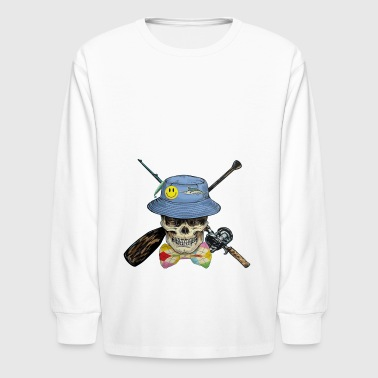 Fishing - Kids' Long Sleeve T-Shirt