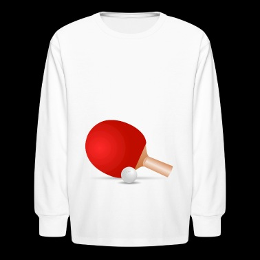 ping pong - Kids' Long Sleeve T-Shirt