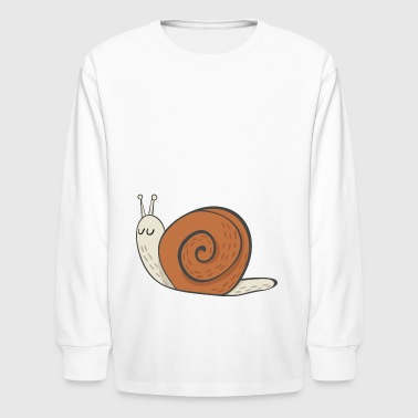 snail - Kids' Long Sleeve T-Shirt