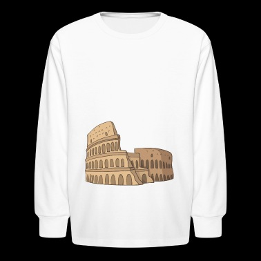 Colosseum - Kids' Long Sleeve T-Shirt