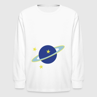 2541614 15466780 saturn - Kids' Long Sleeve T-Shirt