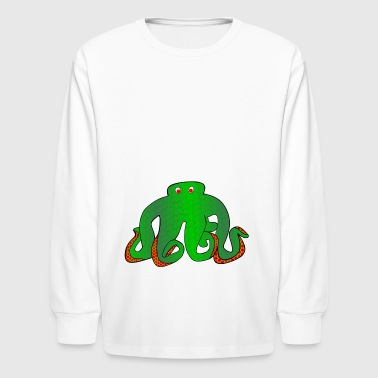 octopus - Kids' Long Sleeve T-Shirt