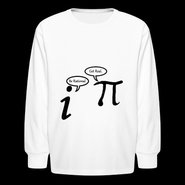 Math jokes - Kids' Long Sleeve T-Shirt