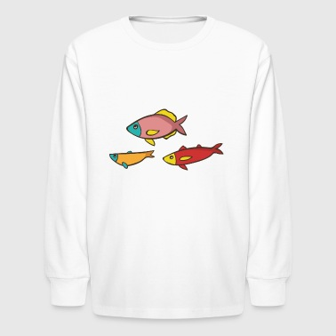 fish - Kids' Long Sleeve T-Shirt