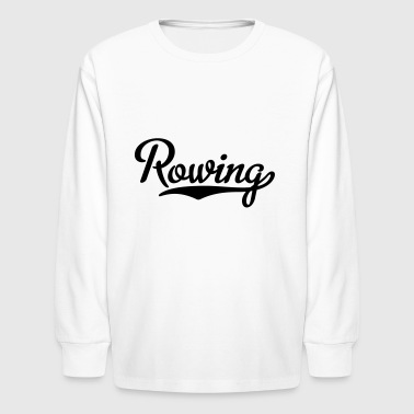 2541614 15879602 rowing - Kids' Long Sleeve T-Shirt