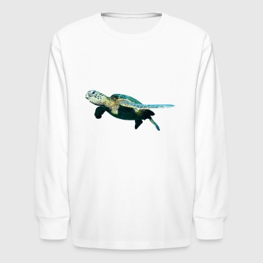 Turtle - Kids' Long Sleeve T-Shirt
