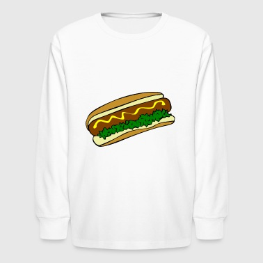 hot dog - Kids' Long Sleeve T-Shirt