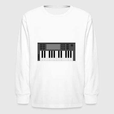keyboard - Kids' Long Sleeve T-Shirt
