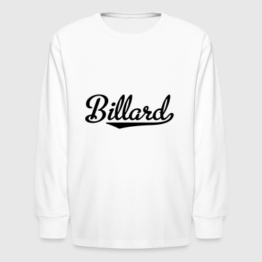 2541614 15743321 biilard - Kids' Long Sleeve T-Shirt