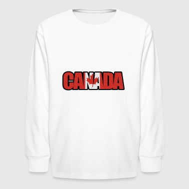 canada - Kids' Long Sleeve T-Shirt
