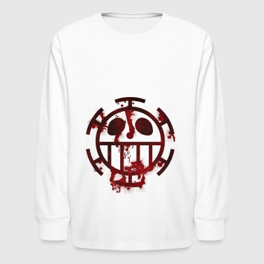 trafalgar law - Kids' Long Sleeve T-Shirt