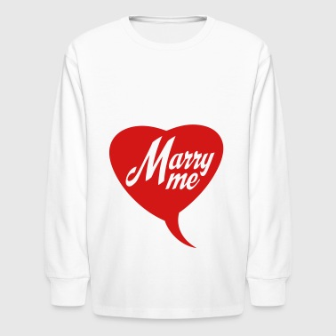 2541614 14956413 marry - Kids' Long Sleeve T-Shirt