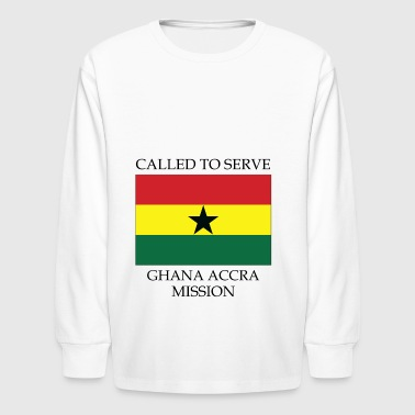 Ghana Accra LDS Mission Called to Serve Flag - Kids' Long Sleeve T-Shirt