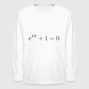 Euler's Identity gift present idea - Kids' Long Sleeve T-Shirt