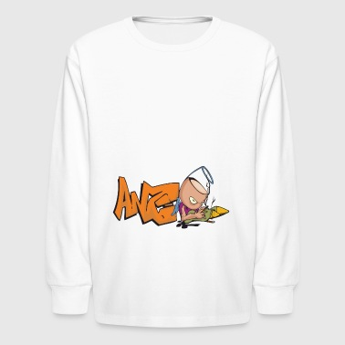 graffiti - Kids' Long Sleeve T-Shirt