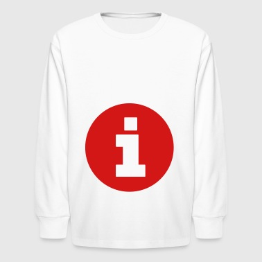 2541614 130151793 information - Kids' Long Sleeve T-Shirt