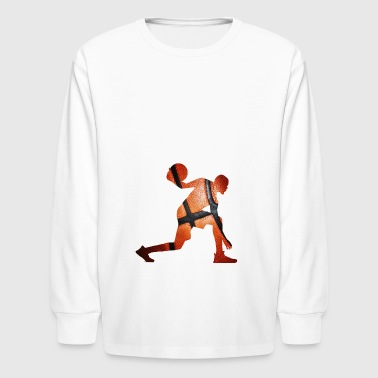 Basketball - Kids' Long Sleeve T-Shirt