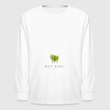 Out Side Nature - Kids' Long Sleeve T-Shirt