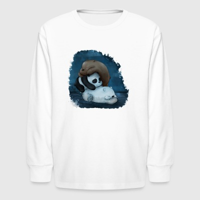 Cubstack - Kids' Long Sleeve T-Shirt