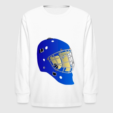 ice hockey eishockey skates schlittschuhe puck hel - Kids' Long Sleeve T-Shirt
