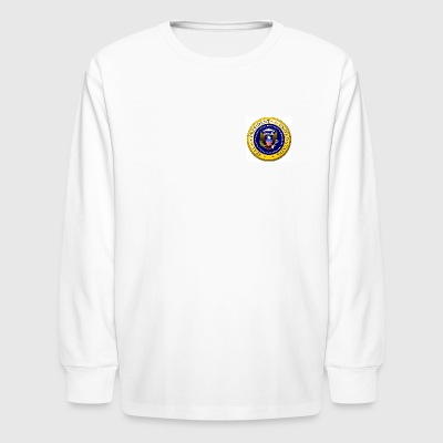 President US - Kids' Long Sleeve T-Shirt